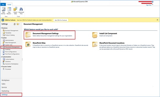 integration SharePoint Dynamics CRM online