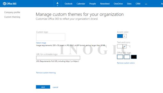 Customize and Personalize Office 365 Portal | Microsoft Dynamics 365