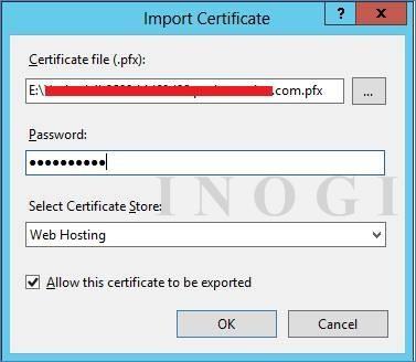 Import Certificates