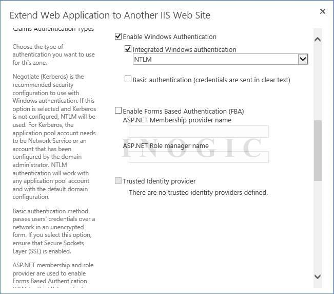 Web Application IIS Website
