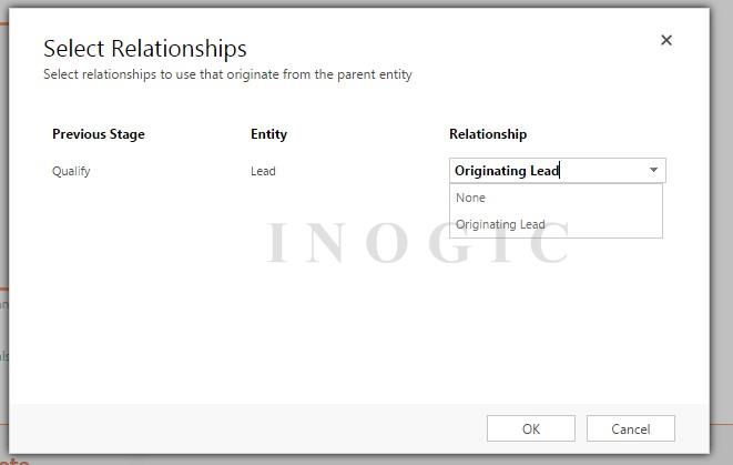 Select Relationship Parent Entity