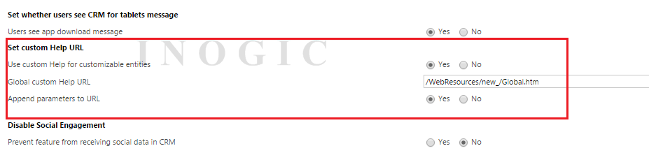 Global Custom URL Help