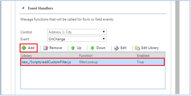 Apply Custom Filter on Lookup Field in Dynamics CRM using Script