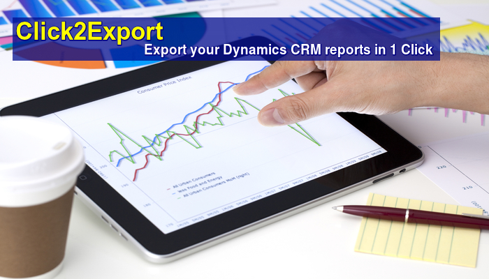 Dynamics CRM Report to Word, PDF, Excel