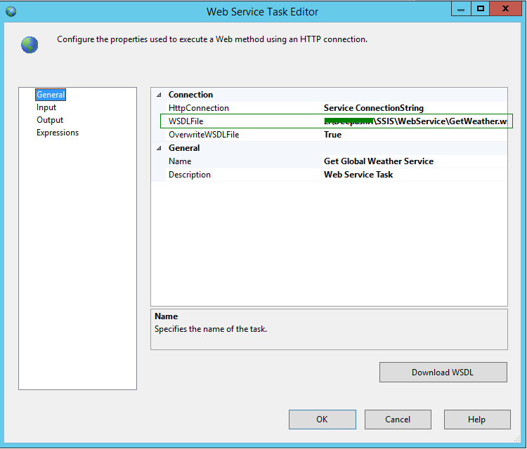 Download example wsdl file for web service free for Ssis framework template