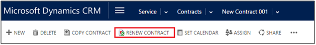 Expired Contracts Awaiting Renewal CRM