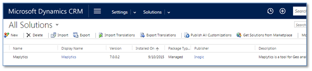 install maplytics in dynamics crm