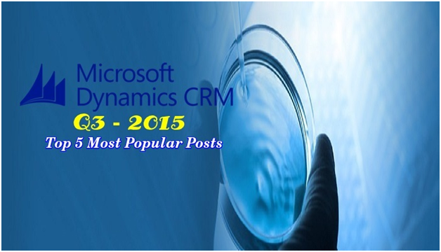 Dynamics CRM most popular posts