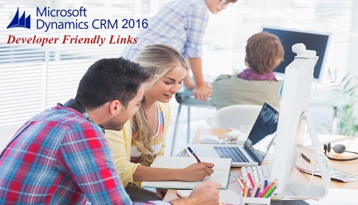 Dynamics CRM 2016 - Developer friendly links