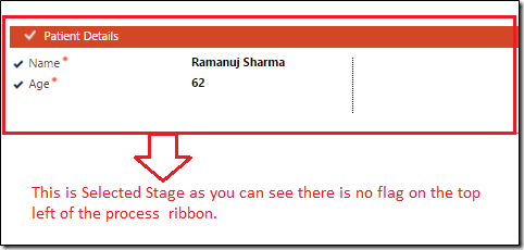 Selected Stage