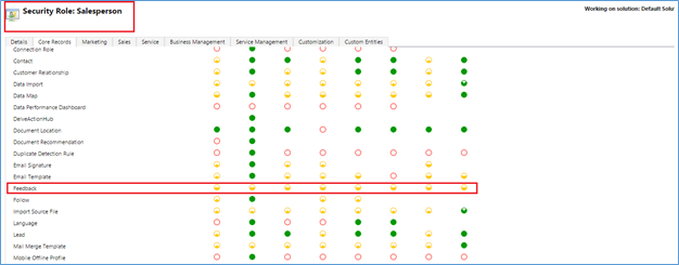 Feedback And Rating in Dynamics CRM