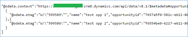 Web API Enhancements in Dynamics CRM