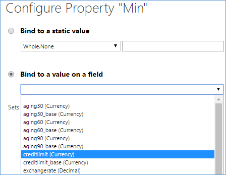 configure property min
