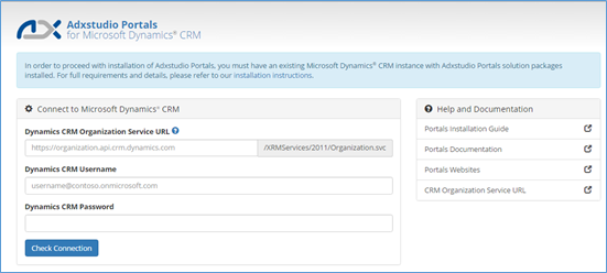 ADX Studio Portals for dynamics crm