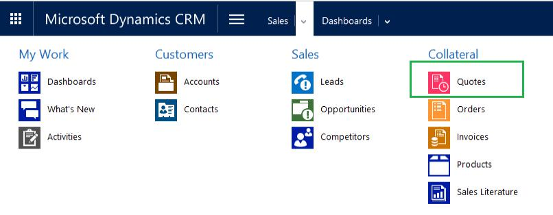 Dynamics CRM Entity Icon