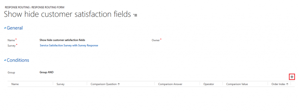 response routing in VOC - Dynamics CRM