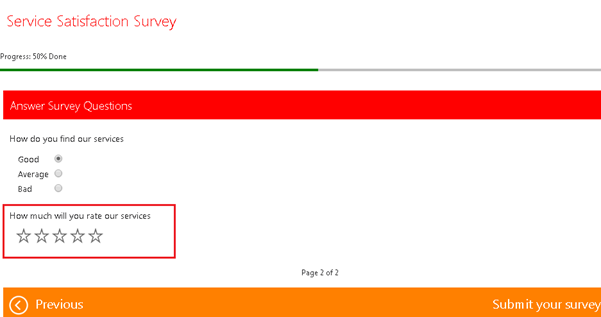 crm surveys display survey questions conditionally for voice of 1636