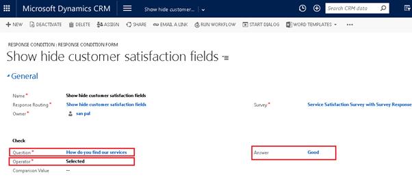 show hide customer satisfaction in voc