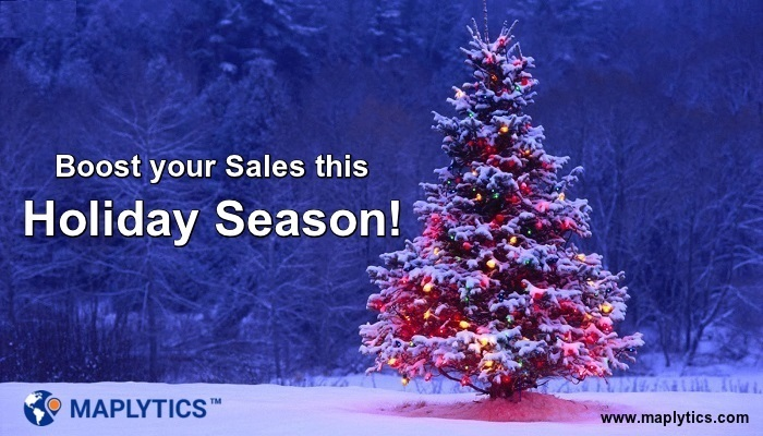 Boost holiday sales with maplytics