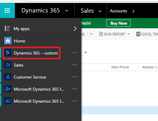 Custom solution components Dynamics365