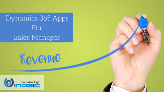 Dynamics 365 Apps For Sales Manager