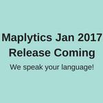 Maplytics Jan Release