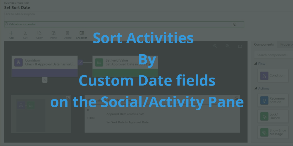 Sort Date by Custom Date Fields