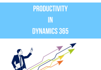 Productivity In Dynamics 365