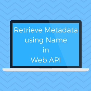 Retrieve Meta data using Name in Web API