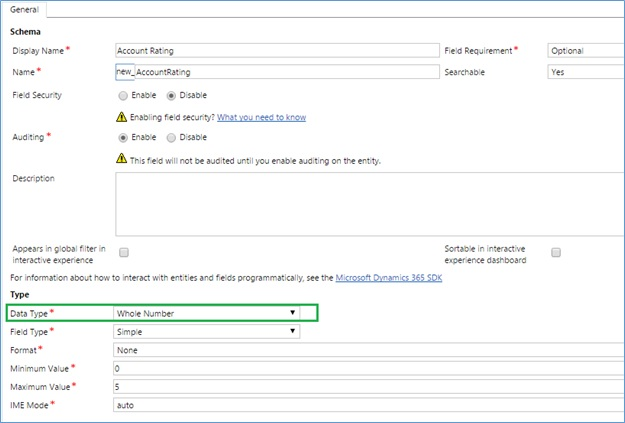 Controls in Dynamics 365 for Mobile App
