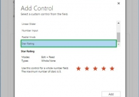 Controls in Dynamics CRM for Mobile App