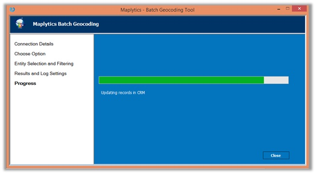 Geocoding Dynamics CRM Data Bing Maps