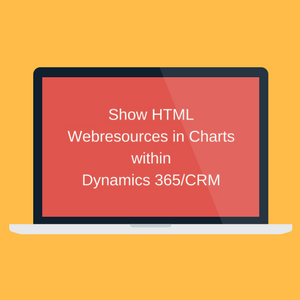 Show HTML Webresources in Charts within Microsoft Dynamics CRM