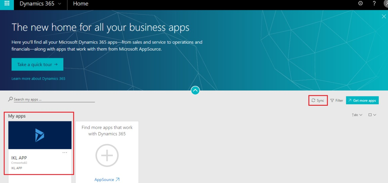 Change the Default Business App Name in Dynamics 365 | Microsoft