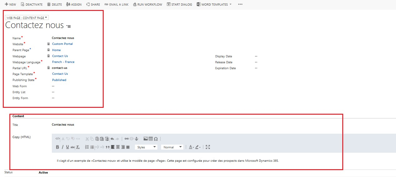 Enable Multiple Languages on Microsoft Dynamics 365 Portal