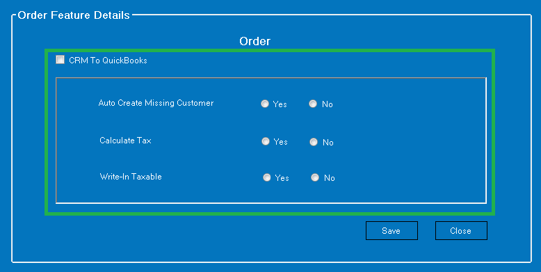 Integration Preferences for Customers