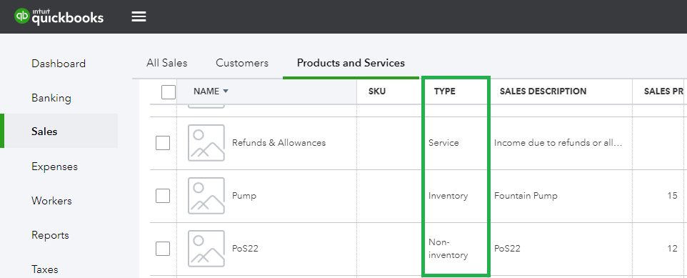 Sync Data from Intuit QuickBooks