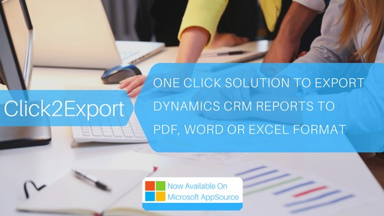 Export Dynamics CRM Report to Excel