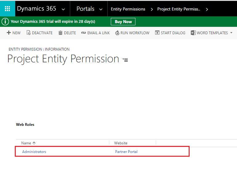 Configure Delete Record on Entity List