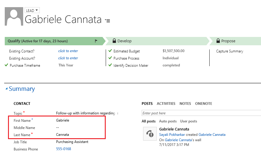 Tip – Composite Name field in Dynamics 365_2