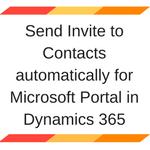 Microsoft Portal in Dynamics 365