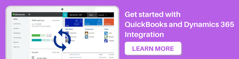 Get started with QuickBooks and Dynamics 365 Integration