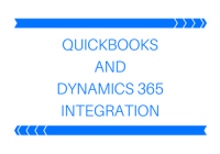 QuickBooks and Dynamics CRM Integration