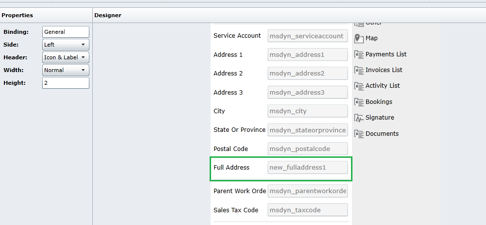 How to concatenate multiple string field values in Resco Mobile CRM1
