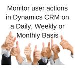 Dynamics CRM User Activity