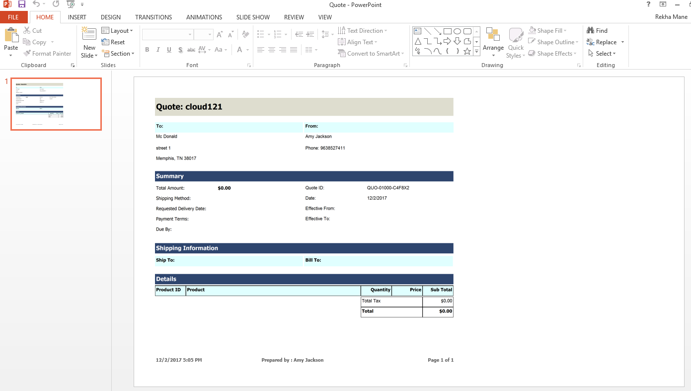 Reports Enhancements in Dynamics 365 V9.0