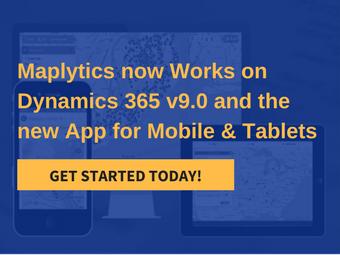 Maps Dynamics 365 v9.0