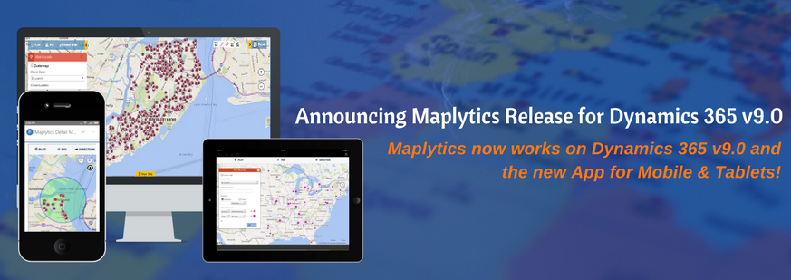 Maplytics v9 release