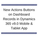 New Actions on Records in Mobile