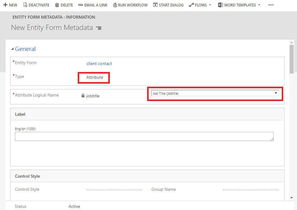 Set Description Field as Display Name in Dynamics 365 Portal